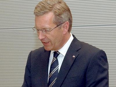 Christian Wulff, Deutscher Bundestag / Lichtblick / Achim Melde  Text: dts Nachrichtenagentur
