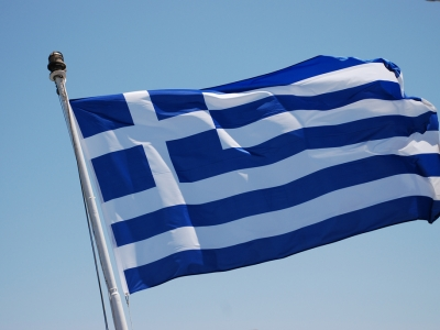 Flagge von Griechenland, Trine Juel, Lizenz: dts-news.de/cc-by