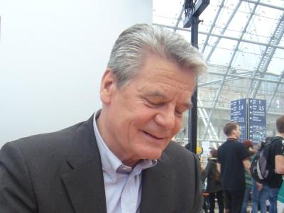 Joachim Gauck, Das blaue Sofa / Club Bertelsmann, Lizenz: dts-news.de/cc-by