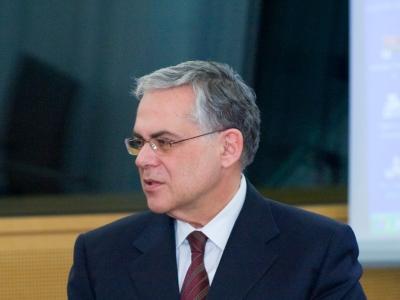 Lucas Papademos, European Central Bank,  Text: dts Nachrichtenagentur