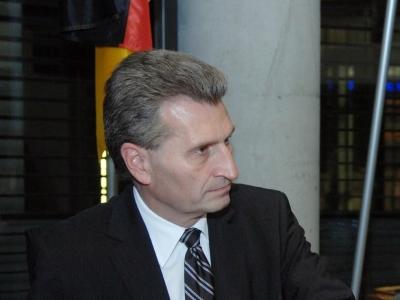 Günther Oettinger, Deutscher Bundestag/Lichtblick/Achim Melde  Text: dts Nachrichtenagentur
