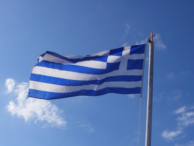 Flagge von Griechenland, Thomas Gruber, Lizenz: dts-news.de/cc-by