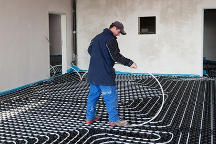 Bild von Nachhaltig Energie sparen mit Fußbodenheizungen
