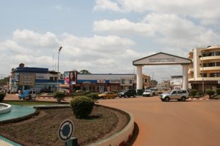 Bangui_Shopping_District