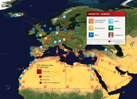 Desertec - Bundesregierung unterstützt Solarkraftwerk in Marokko