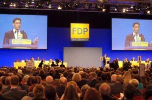FDP Parteitag 310x205 - FDP will um enttäuschte Unions-Wähler werben