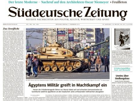 Süddeutsche zeigt, wie moderne Zeitung funktioniert