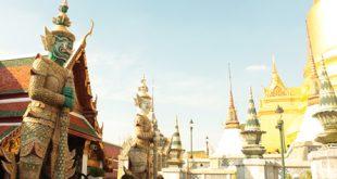 Thailaendische-Tempelanlage