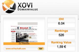 Xovi 310x205 - Internet-Kennzahlen: Teil 11 OVI