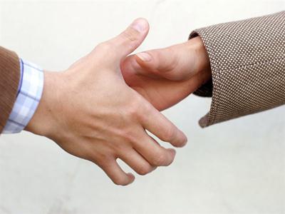 Business Partnerschaft