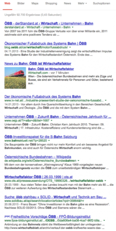 wirtschaft.com-Nachrichten-GoogleNews GoogleNews, BingNews und (Soziale) Netzwerke