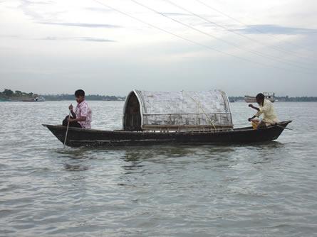 Fischer in Bangladesch