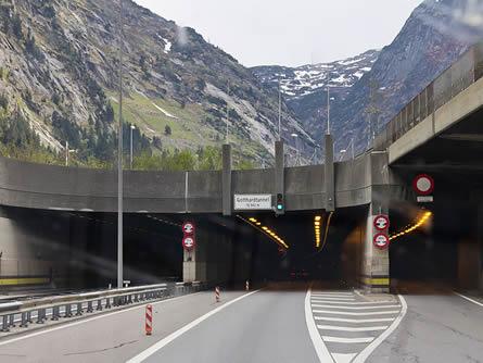 Gotthard Strassentunnel