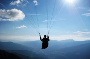 Tirol Gleitschirm fliegen