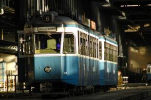 Tramlinie in Zürich
