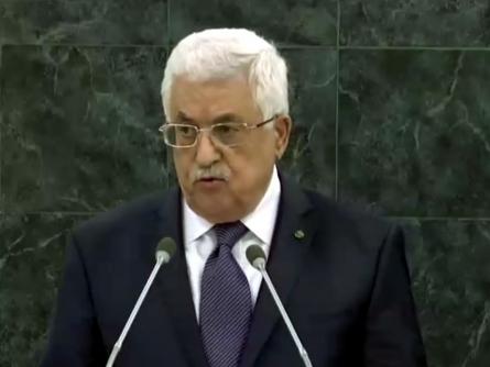 """Bild von Abbas wirft Israel """"Völkermord"""" im Gazastreifen vor"""