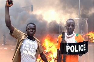 Ausschreitungen in Burkina Faso