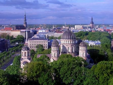 Riga, Hauptstadt von Lettland