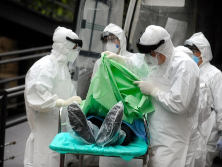 Bild von DRK-Präsident: Gefahr durch Ebola noch nicht gebannt