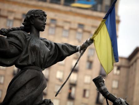 Bild von Ukraine gedenkt der Maidan-Opfer