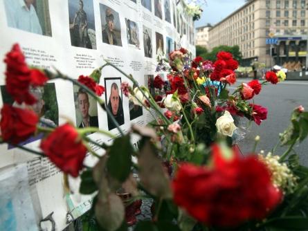 Bild von Poroschenko gedenkt der Maidan-Opfer