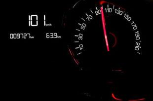 Geschwindigkeitsanzeige