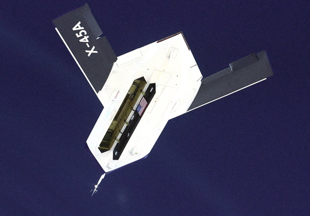 Drohne Boeing X45a
