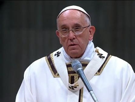 Papst Franziskus am 24.12.2014, über dts Nachrichtenagentur