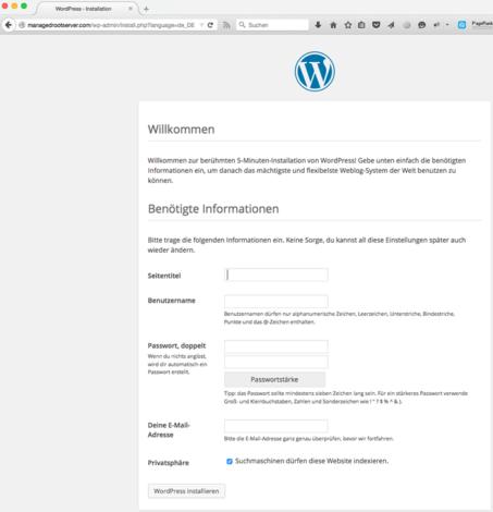 WordPress Blog Einstellungen - WordPress Website erstellen - Schritt für Schritt