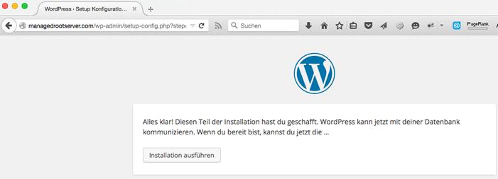 WordPress Datenbank Installation - WordPress Website erstellen - Schritt für Schritt
