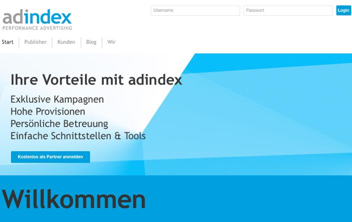 Bild von Adindex: Kampagnen schalten mit dem Premium-Netzwerk