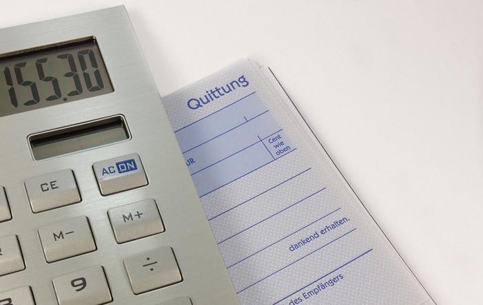 Quittung Studie: Steueraufkommen von Unternehmen wächst stetig