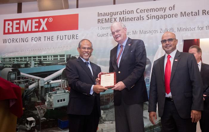 Bild von REMEX eröffnet Recyclinganlage in Singapur