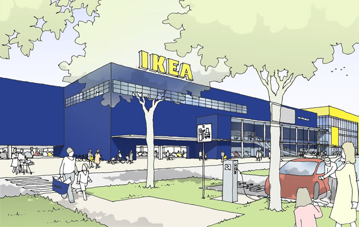 ikea Nuernberg - IKEA eröffnet Filiale in Nürnberg
