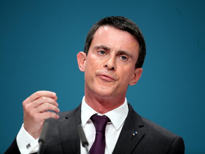 """Französischer Premierminister Valls warnt vor großen Anschlägen - Französischer Premierminister Valls warnt vor """"großen"""" Anschlägen"""