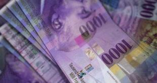 1000 Franken Note 310x165 - Schweizer CEOs erhielten 2015 über 6 Prozent mehr Lohn
