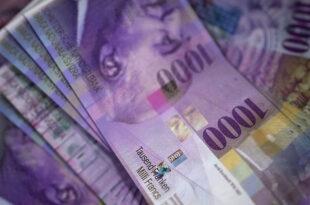 1000 Franken Note 310x205 - Credit Suisse lanciert Bankomat-Bezüge ohne Karte