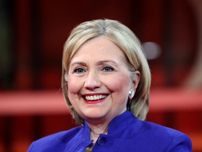 """Bild von Clinton und Trump klare Sieger am """"Super Tuesday"""""""
