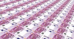 500 Euro Noten 310x165 - NRW: Moderater Antieg der Reallöhne