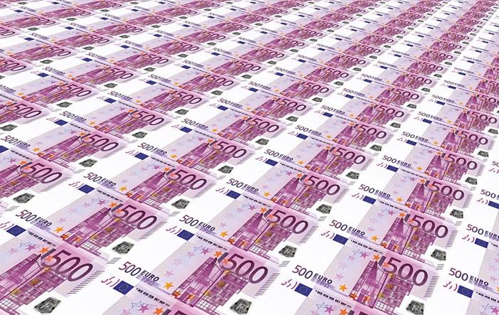 500 Euro Noten - NRW: Moderater Antieg der Reallöhne