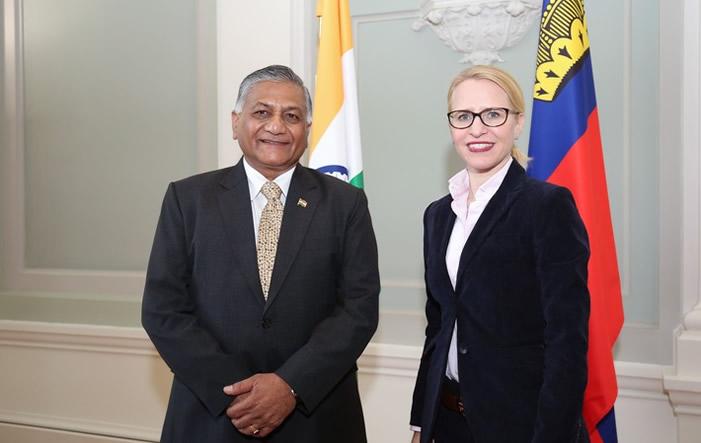 Bild von Liechtenstein und Indien diskutieren Freihandelsabkommen