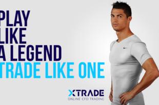 Markenbotschafter Christiano Ronaldo XTrade 310x205 - Online-CFD-Broker XTrade: Christiano Ronaldo wirbt als Markenbotschafter