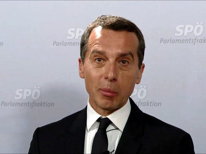 Bild von Christian Kern zum Bundeskanzler von Österreich ernannt
