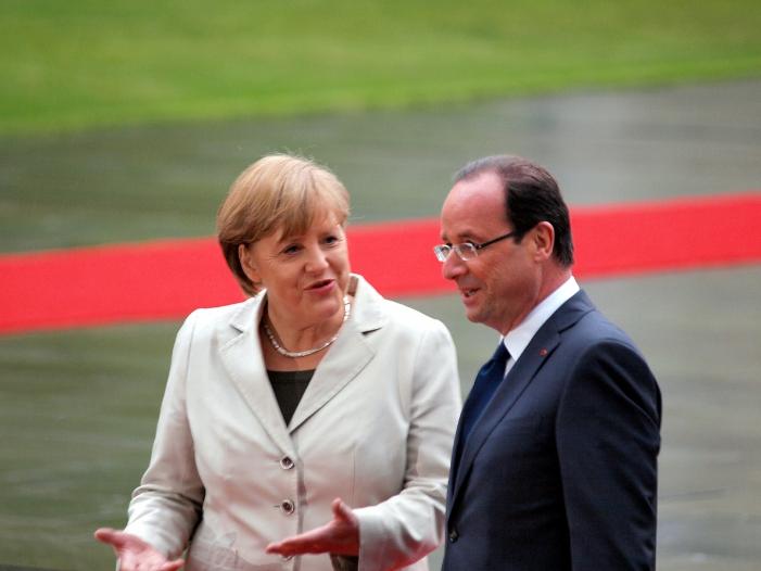 Merkel würdigt gute Beziehungen zwischen Frankreich und Deutschland - Merkel würdigt gute Beziehungen zwischen Frankreich und Deutschland