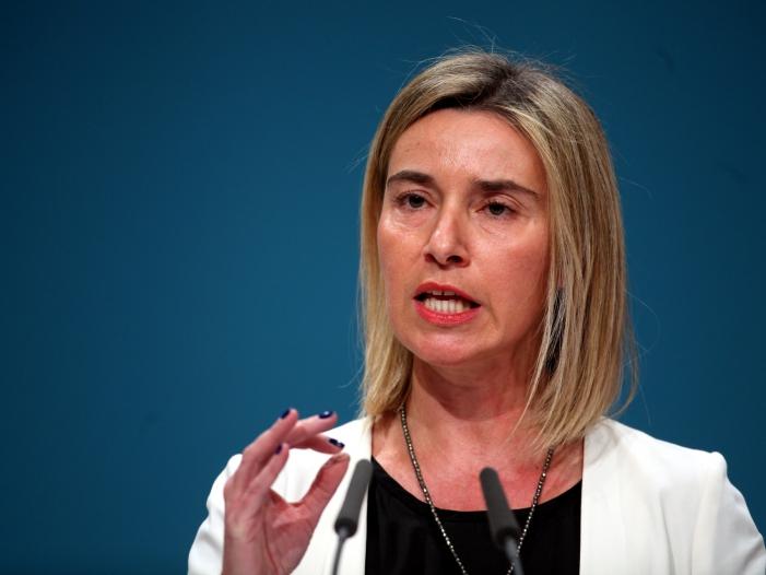 """Mogherini: """"EU bleibt eine fundamentale Macht in der Welt"""""""