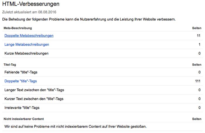 Webmaster Tools: Der Werkzeugkasten von Google