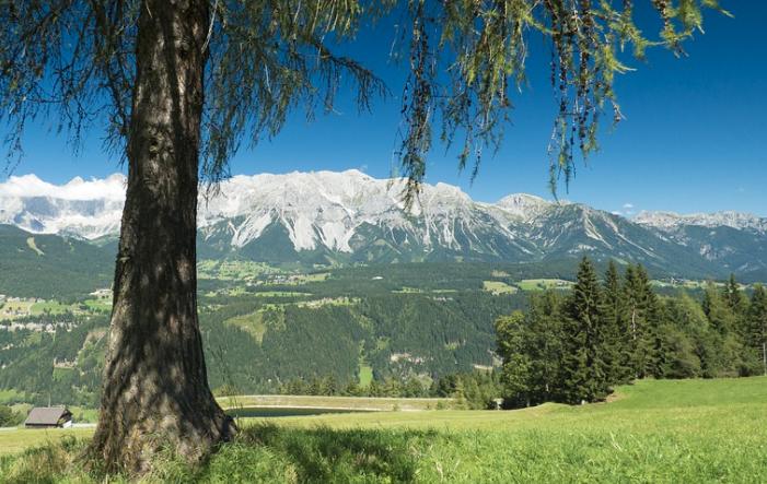 Dachstein Landflucht in Österreich mit dramatischen Ausmassen