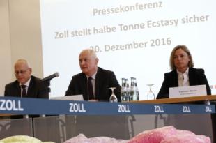 Generalzolldirektion 310x205 - Deutscher Zoll stellt 2016 über 500 Kilogramm Ecstasy sicher