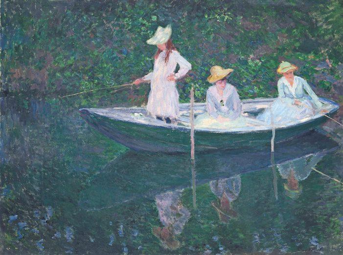 Monet In der Barke - Städtereise: Claude Monet lockt nach Basel