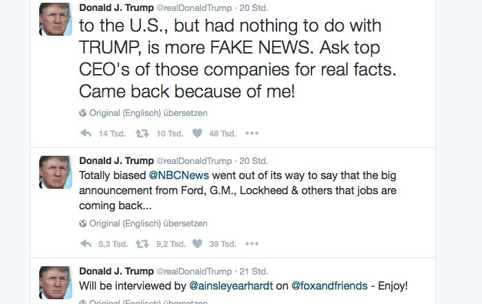 Photo of Bob Lutz: Tweets von Trump haben keine Auswirkungen auf Investitionen